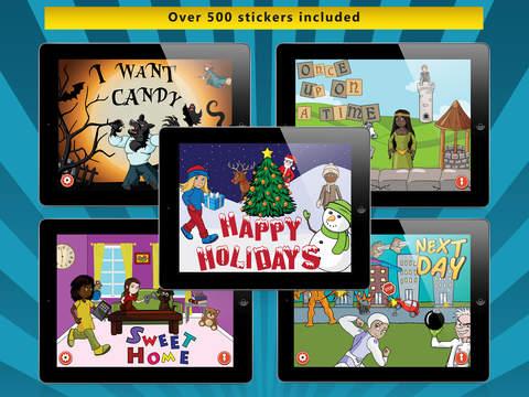 Sticker Story - The storybook creator for kids screenshot 1