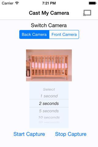 Cast My Camera for Chromecast - náhled