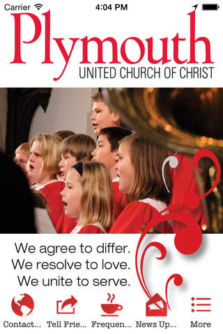 Plymouth Church DSM - náhled