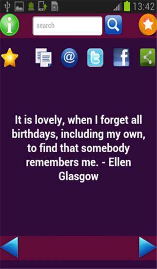 Birthday Quotes screenshot 2