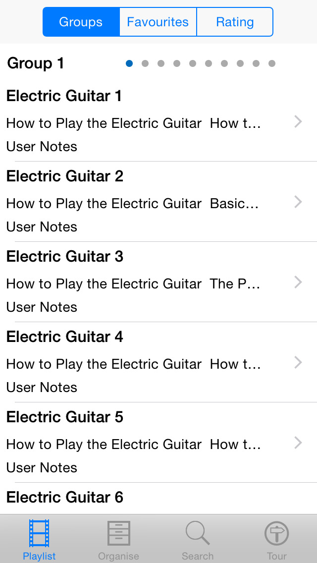 Electric Guitar Lessons - Ultimate Guide screenshot 2