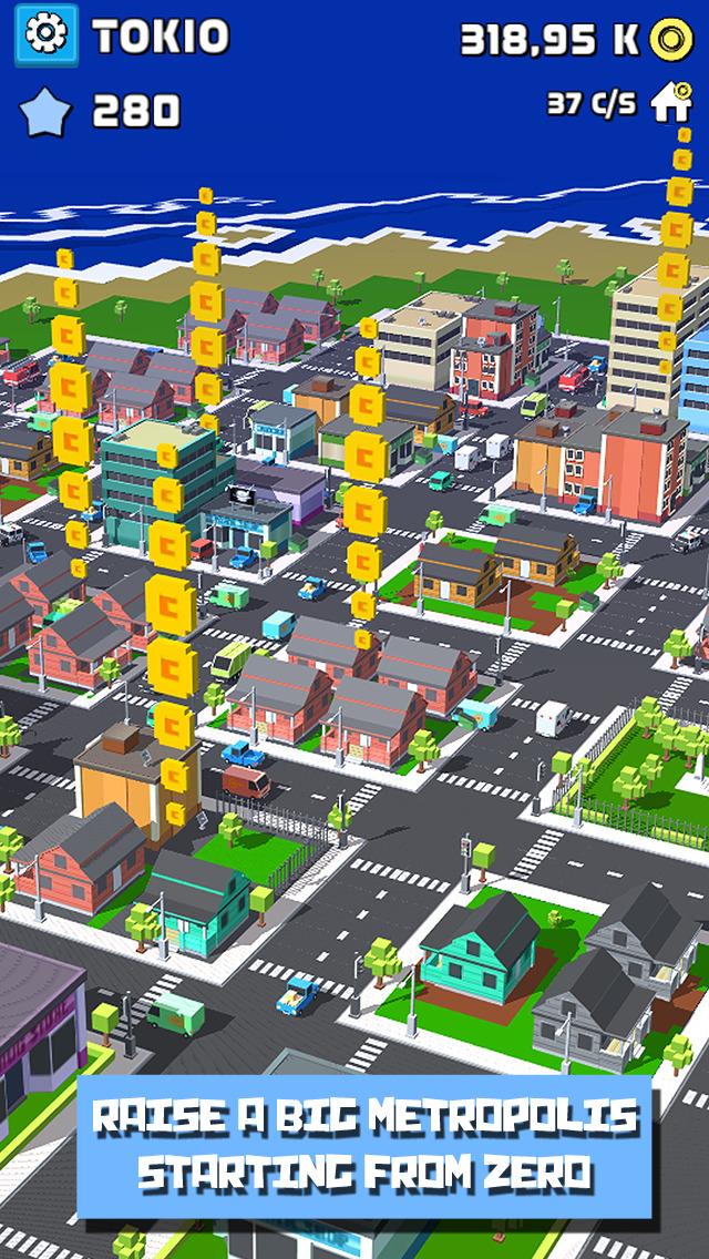 Tap City: Building genius screenshot 2