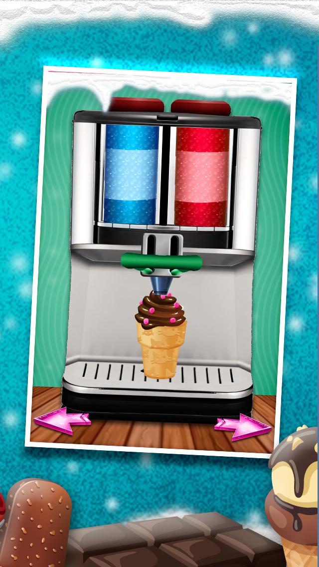A+ Cone & Sundae Creator Ice-Cream Sandwich Maker Game screenshot 2