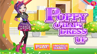 Poppy O'hair Dress Up screenshot 1
