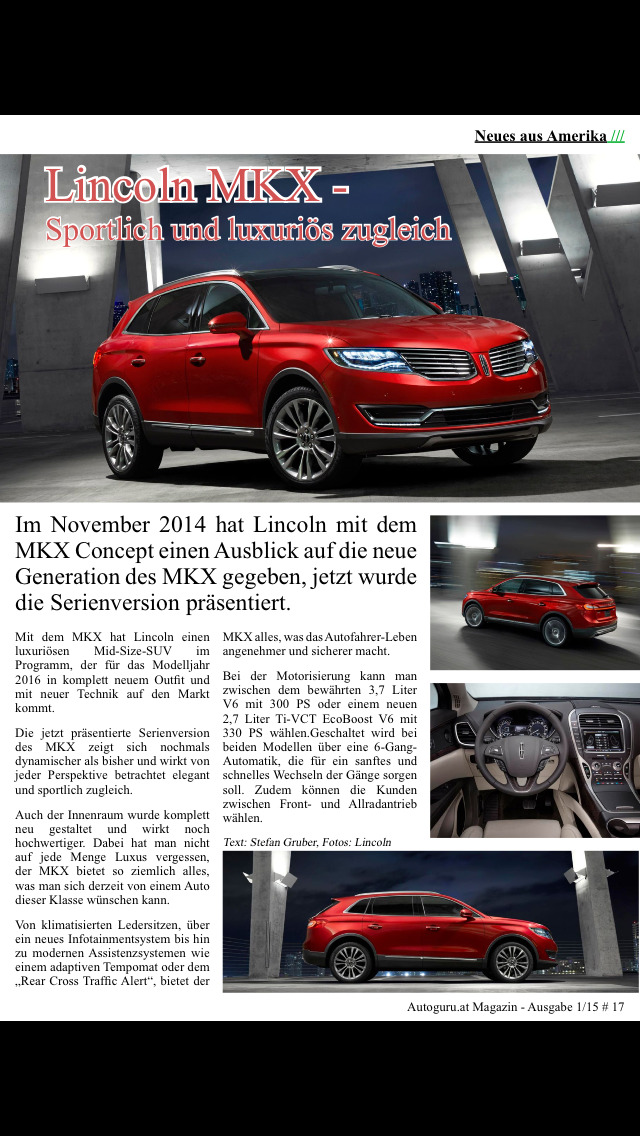 Autoguru.at Magazin screenshot 5