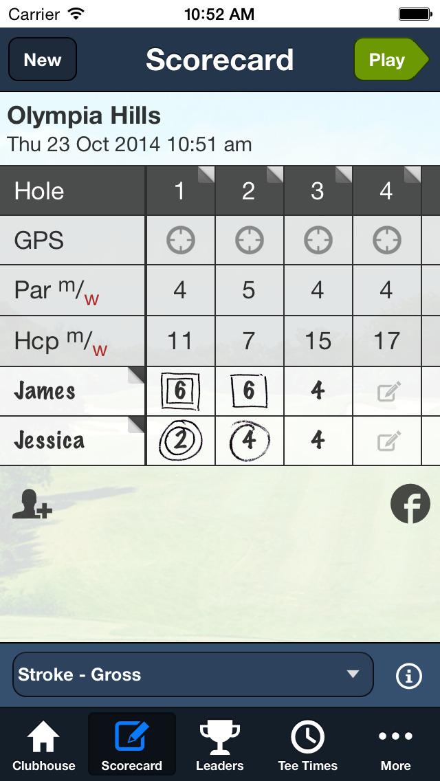 Olympia Hills Golf screenshot 4