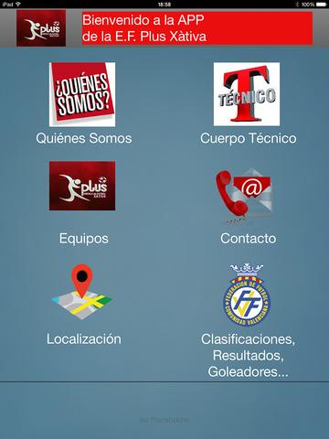 PLUSXATIVAIOS - Escuela Futbol Plus Xativa screenshot 9