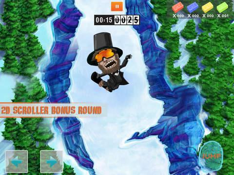 Huck It Skiing 3D screenshot 7