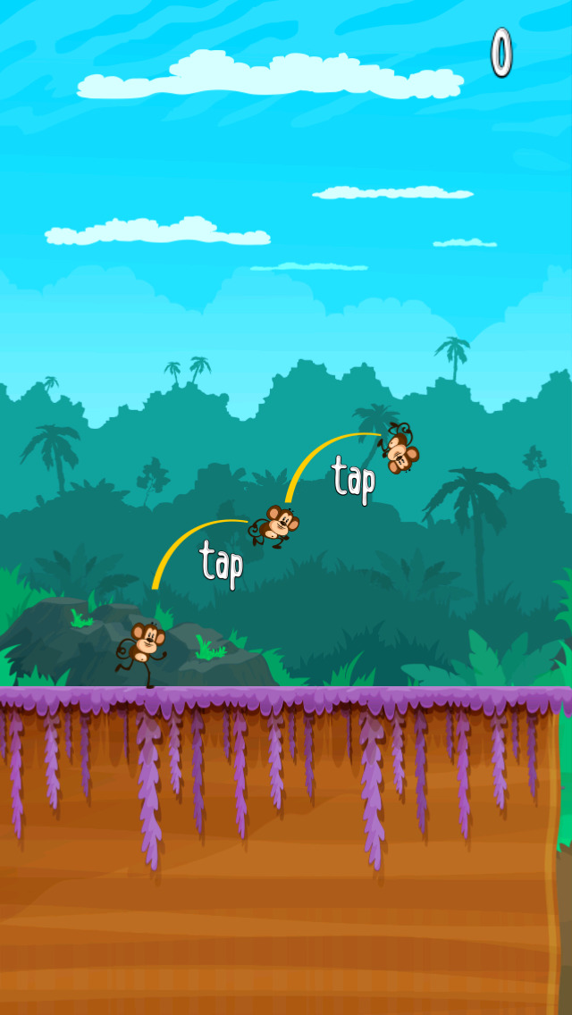 Monkey Jump Racer screenshot 1