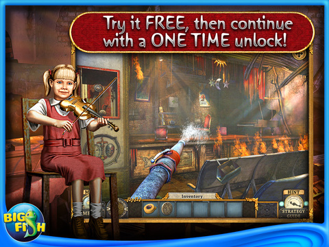 Silent Nights: Children's Orchestra HD - A Hidden Object Adventure screenshot 1