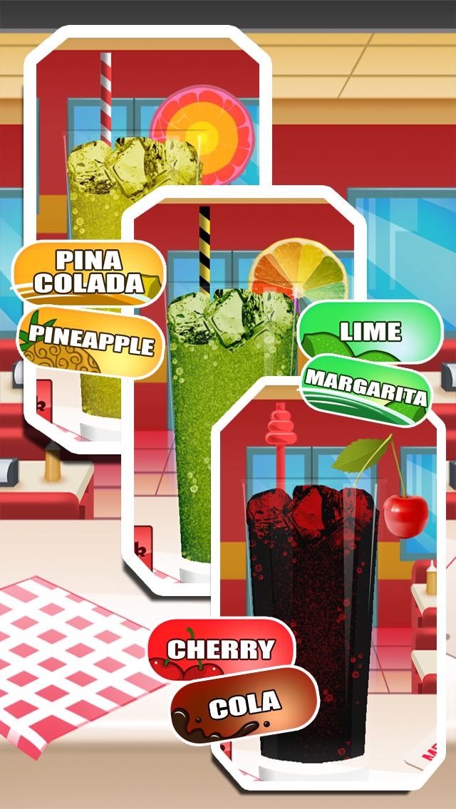 Awesome Jelly Soda Crush Drink Maker Restaurant screenshot 2