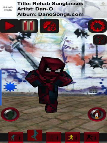 CraftDance 3D - Free Skins Dancing and Skin Viewer for Minecraft screenshot 5