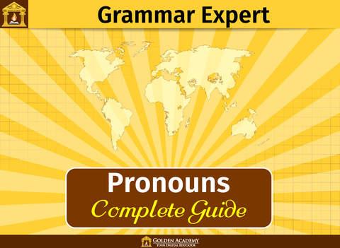 Grammar Expert : Pronouns [ Complete Guide ] screenshot 6