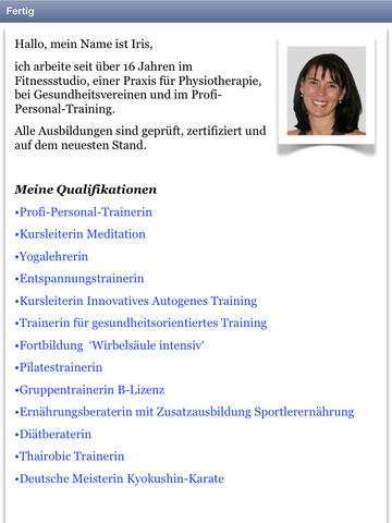 Progressive Muskelentspannung Kurs screenshot 10