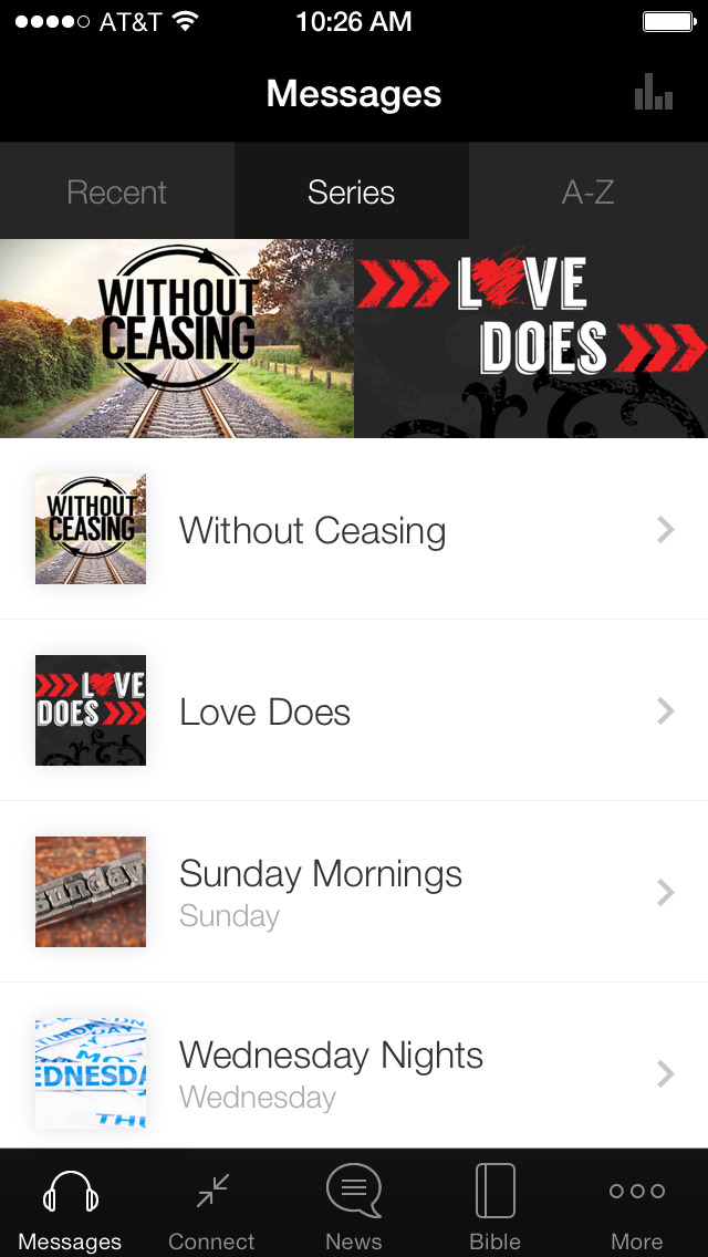 Temple Baptist Church App screenshot 1