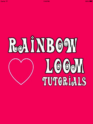 Complete Guide for Rainbow Loom Designs screenshot 5