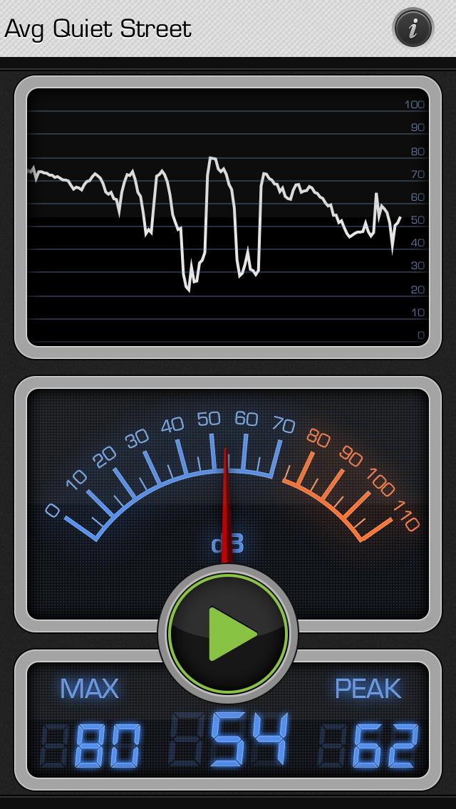 Decibel X: dB, dBA Noise Meter screenshot 1