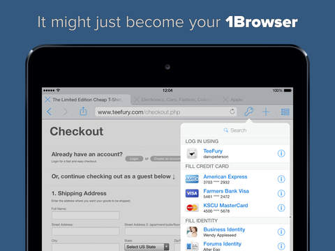 1Password - Password Manager screenshot 8