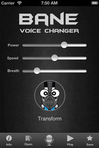 Superhero - Bane Voice Changer Edition - náhled