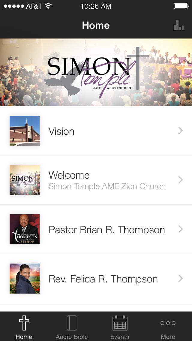 Simon Temple AMEZ Church screenshot 1