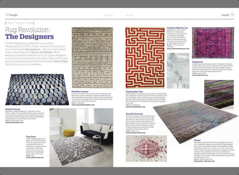 COVER: Modern Carpets & Textiles for Interiors screenshot #3