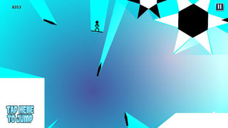 Absolute eXtreme Stickman Snowboarding - Wild & Crazy Stunts Snow Boarder Edition screenshot 3