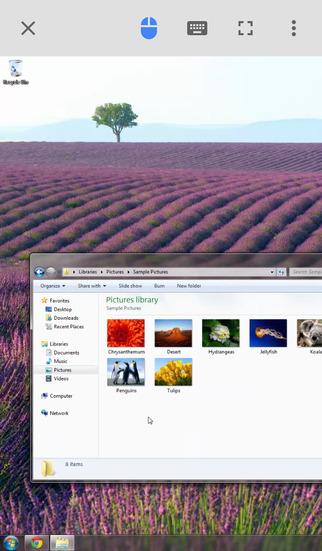 Chrome Remote Desktop screenshot 1