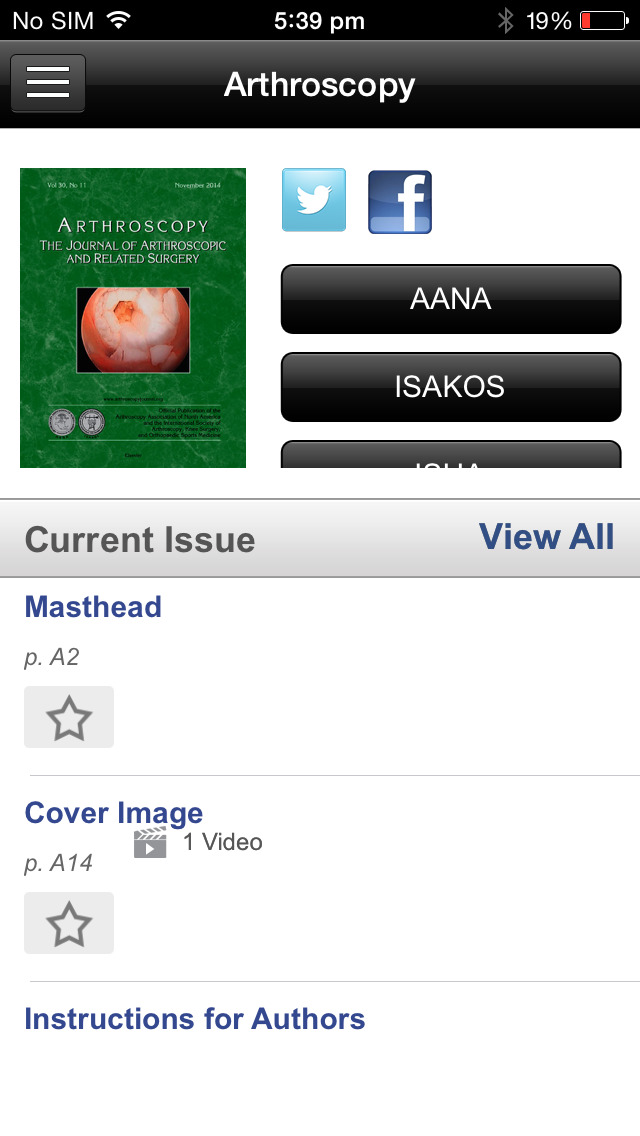 Arthroscopy Journal screenshot 4