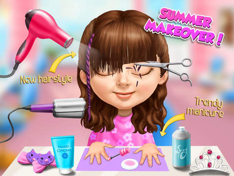 Sweet Baby Girl Summer Fun - Dream Seaside screenshot 10