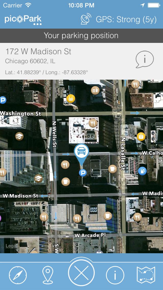 picoPark - Find my car screenshot 3