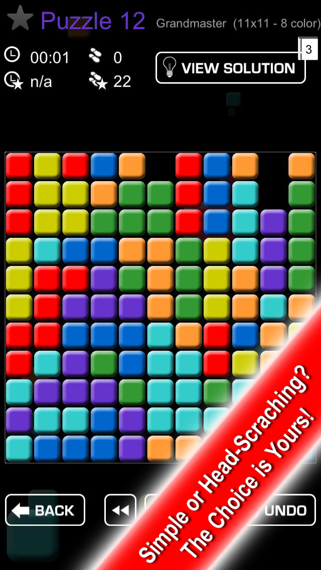Block Buster Free - puzzle game screenshot 2