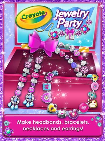 Crayola Jewelry Party – Bead Maker screenshot 6