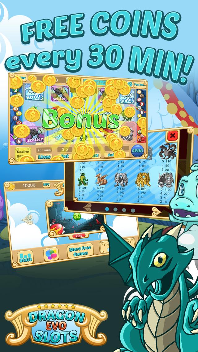 `Dragon Evo Slots PRO - Medieval Casino screenshot 3