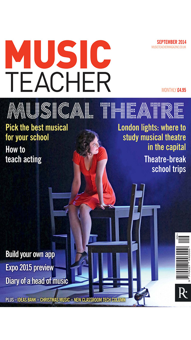 Music Teacher Magazine - the UK's no.1 music education resource screenshot 1