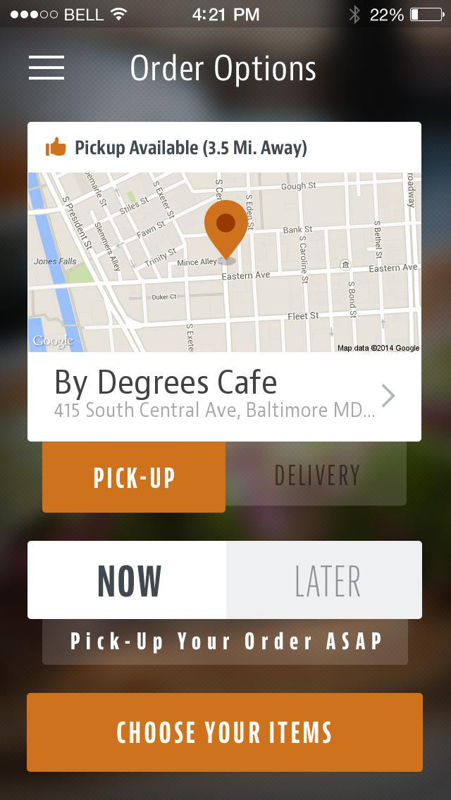 By Degrees Cafe screenshot 2