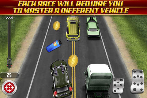 Drag Racing Challenge: Run In The Temple Of Speed. - náhled