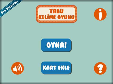 Tabu Kelime Oyunu screenshot 7