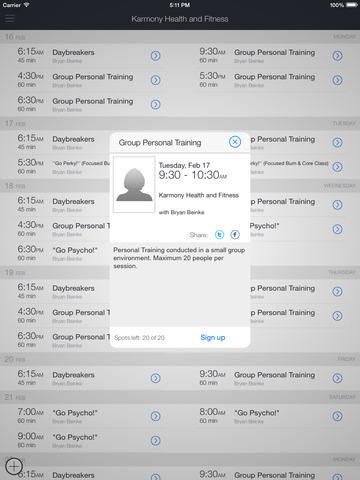 Karmony Health & Fitness screenshot 5
