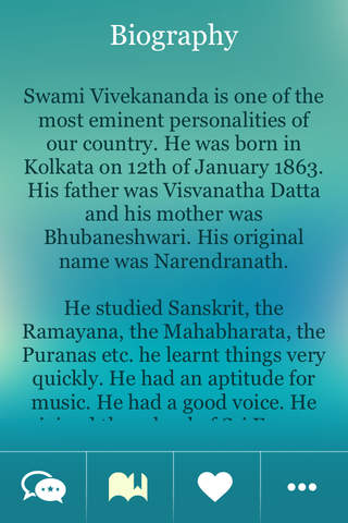Swami Vivekanada Thoughts~ Great inspiration Quote - náhled