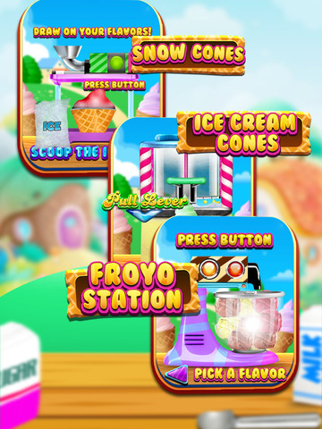 """ A Froyo King Mogul – Frozen Yogurt Customizer Dessert Maker Mania Free screenshot 8"