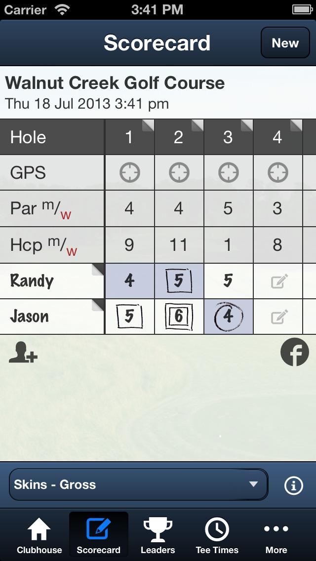 Walnut Creek Golf Courses screenshot 4