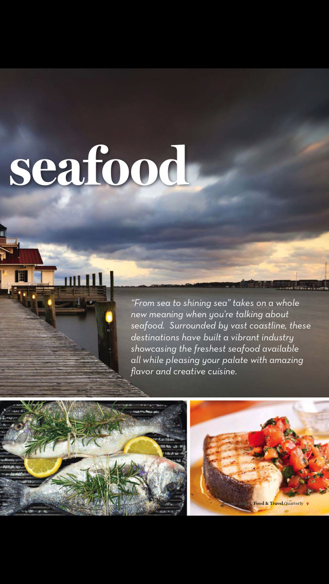 Food and Travel Quarterly Mag screenshot 4