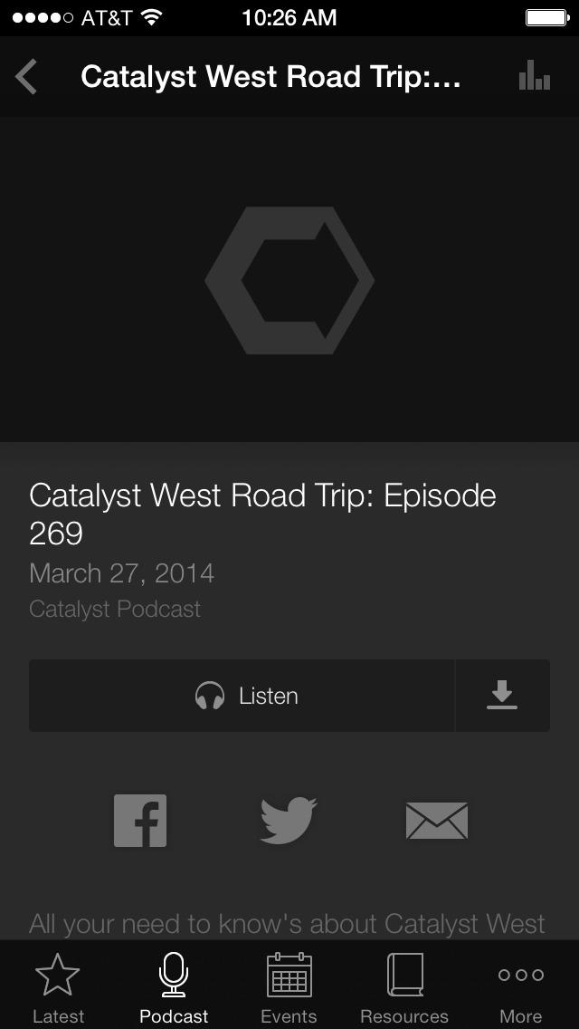Catalyst Leader screenshot 3