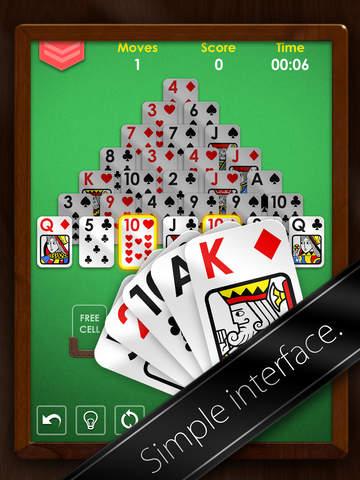 Pyramid Solitaire Premium Free screenshot #2