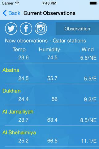 Qatar Weather - náhled