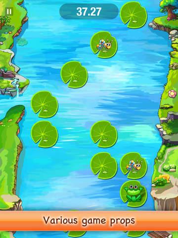 Jumping Frog Free screenshot 3