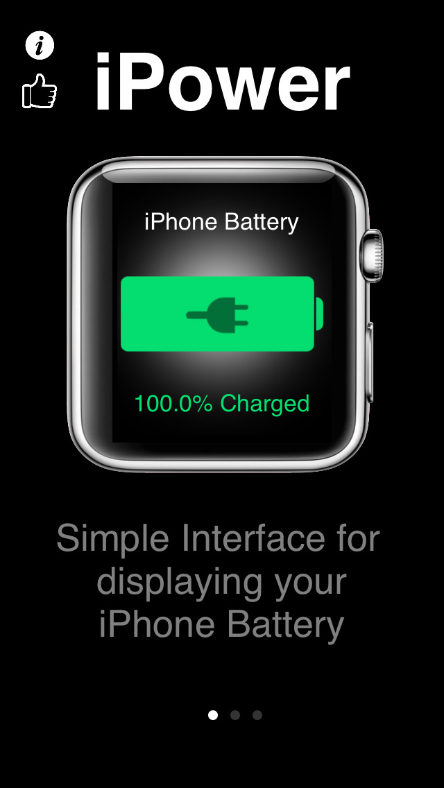 iPower - Glance Battery Usage For Watch screenshot 4