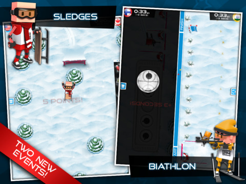 Flick Champions Winter Sports screenshot #2