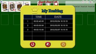 Touch FreeCell PVD screenshot 3