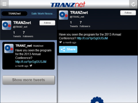 TRANZnet - náhled